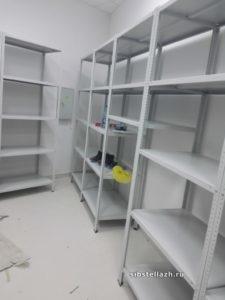 Подсобное помещение магазина